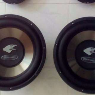 American Sound 12inch Double Magnet Double Coil Sub Woofer