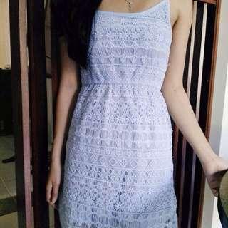 Blue Dress HnM
