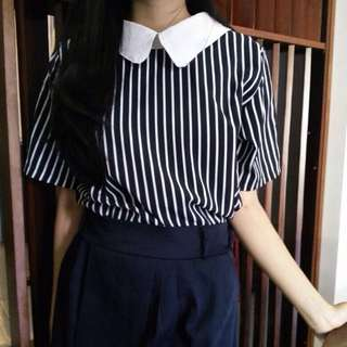 Collar Top Made In Thailand