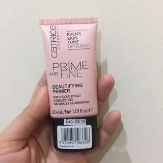 Catrice Cosmetics Prime and Fine