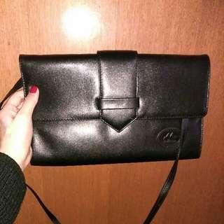 Vintage Leather Clutch/Bag