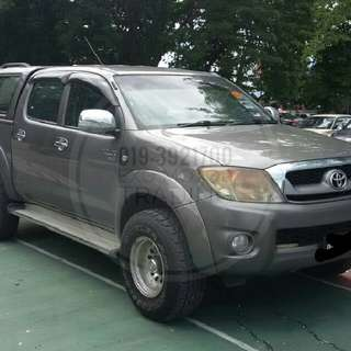 C-LOAN : Year 2011 Toyota Hilux 2.5 (A)