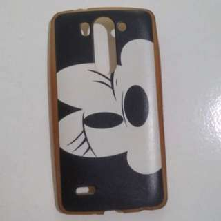 LG G3 Beat Silicon/jelly Case Minnie Mouse