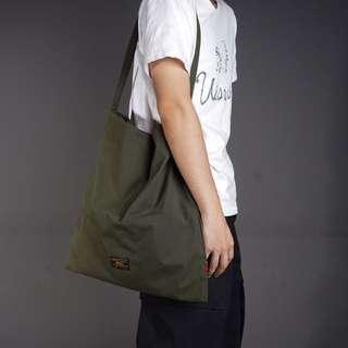 Wtaps 16aw 軍事風 單肩 工裝帆布包 托特包 tote bag