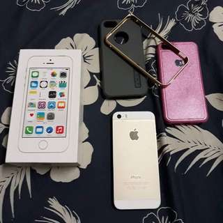 Iphone 5s 32gb Gold (Lady Owned)