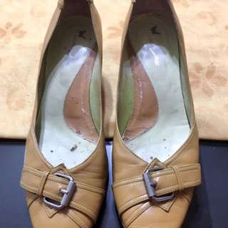Brown Shoes With Heels