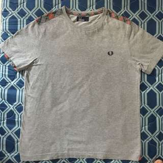 Fred Perry Gray Shirt
