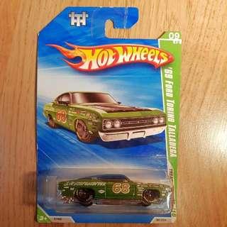 Hot Wheels '69 Ford Torino Talladega