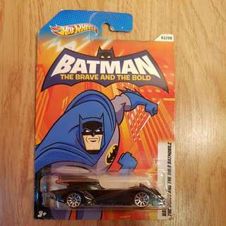 Hot Wheels Batman The Brave And The Bold
