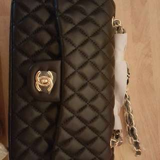 Chanel Black Flap Bag Purse Bag