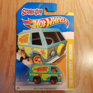 Hot Wheels Scooby Doo
