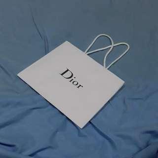 PAPER BAG DIOR small #630