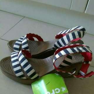 降價#Crocs 國外買回 涼鞋 楔形鞋
