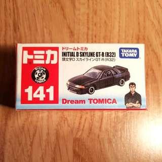 Tomica Initial D Skyline GT-R (R32)