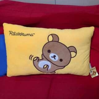 【全新免運】正版 拉拉熊雙人枕