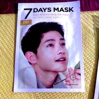 面膜-宋準基代言-7days Mask Friday