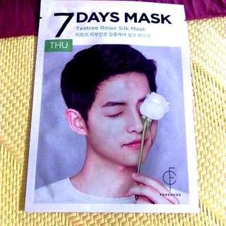 面膜—宋準基代言—7days Mask Thursday