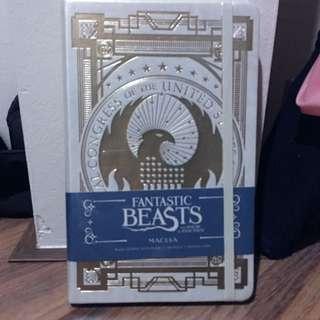 Fantastic Beasts MACUSA Journal/Notebook INSTOCK