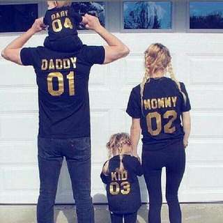 Family Jersey Love Number Tee Shirt Unique - Famever