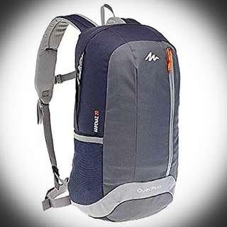 ⭐Quechua Arpenaz 20L ~ Hiking Backpack (Black/Grey)⭐