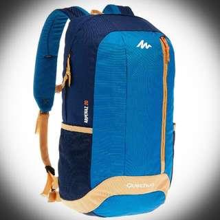 ⭐Quechua Arpenaz 20L ~ Hiking Backpack 20Liters (Blue/Dark Blue)⭐