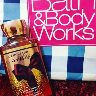 Shower Gel Bath and Body Works USA A Thousand Wishes