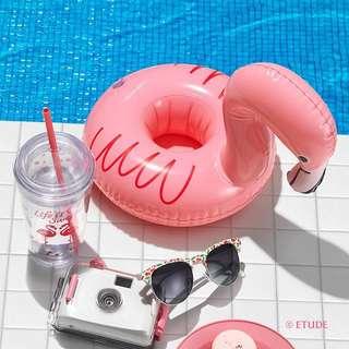 Etude House Summer Cup Holder Tube Set [Flamingo]