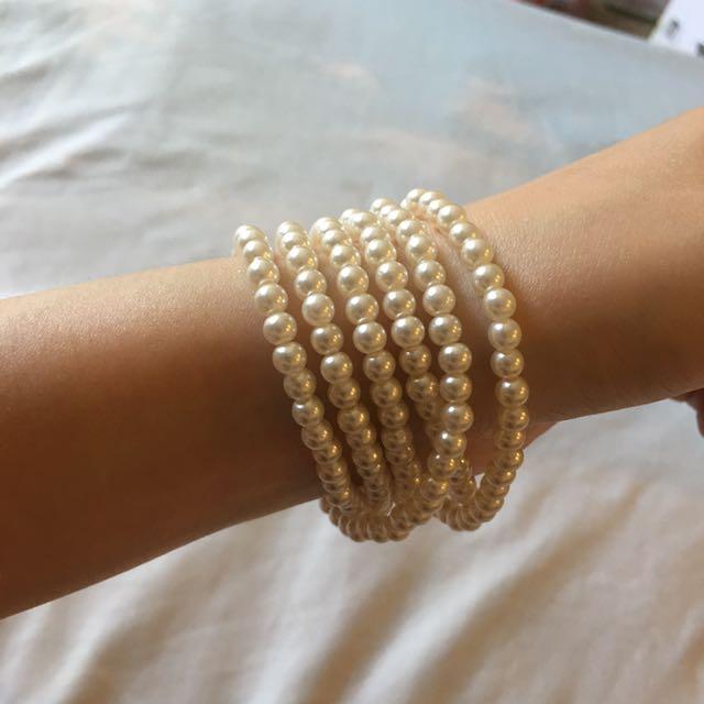 二手🌟珍珠手鏈