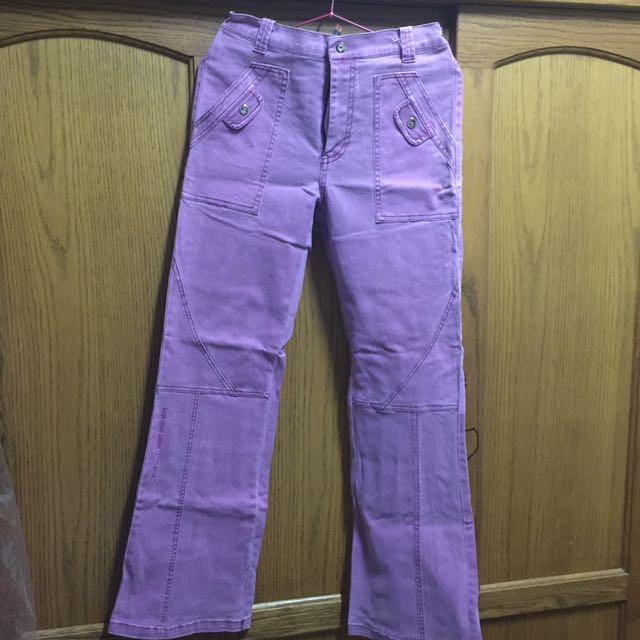 復古風喇叭褲