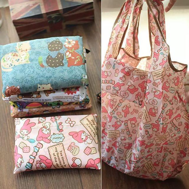 折疊防水購物袋