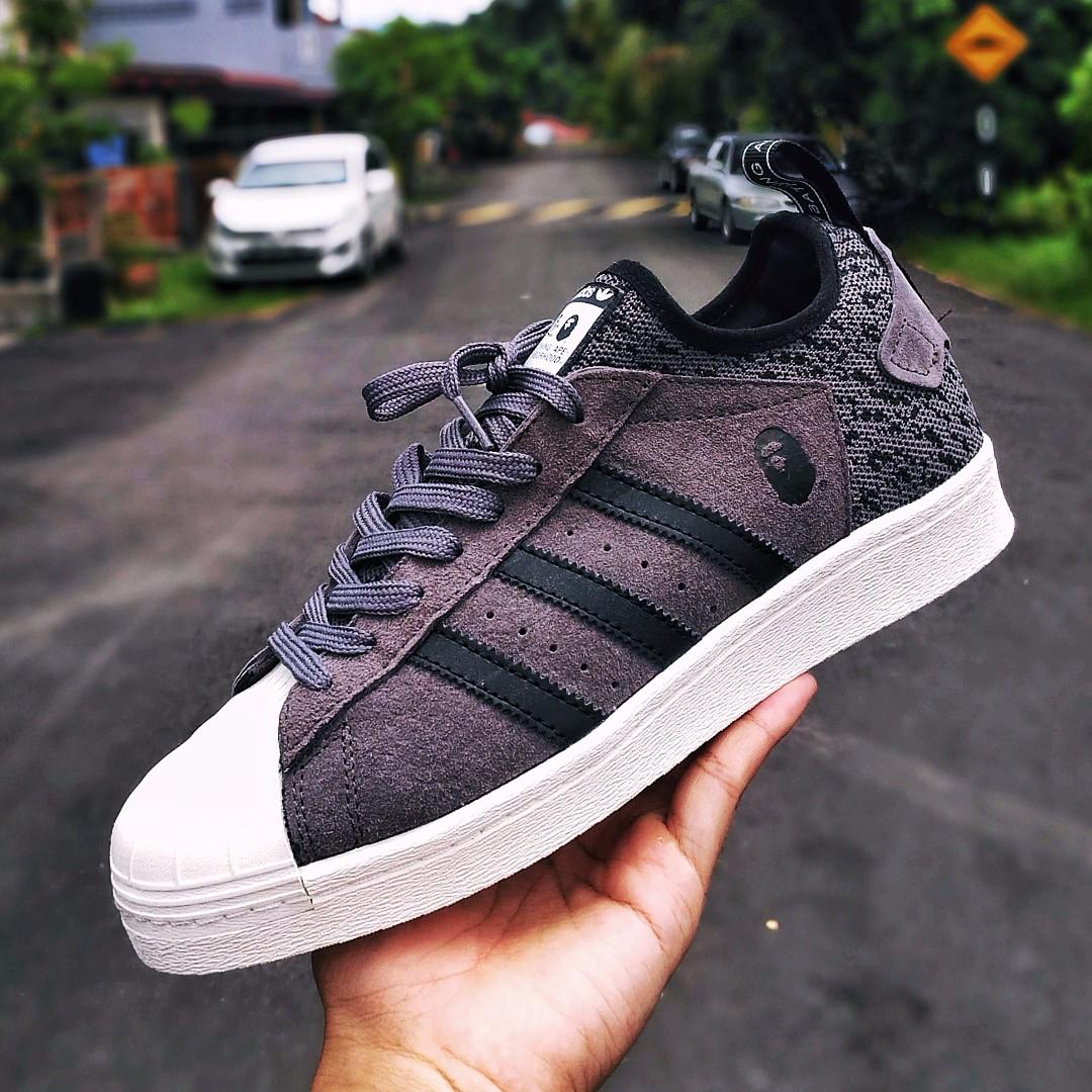 Adidas Superstar Bape x Neighborhood