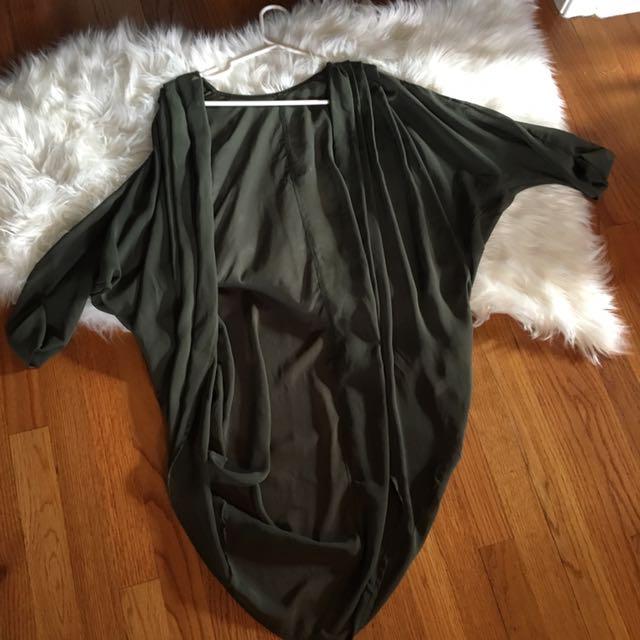 American apparel Chiffon Cover Up