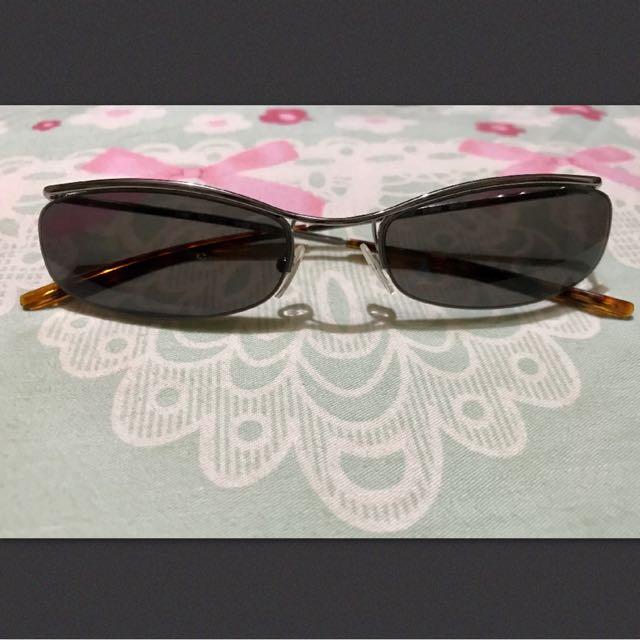 Authentic Gucci Half Rim Sunglass 135 GG 1664/S