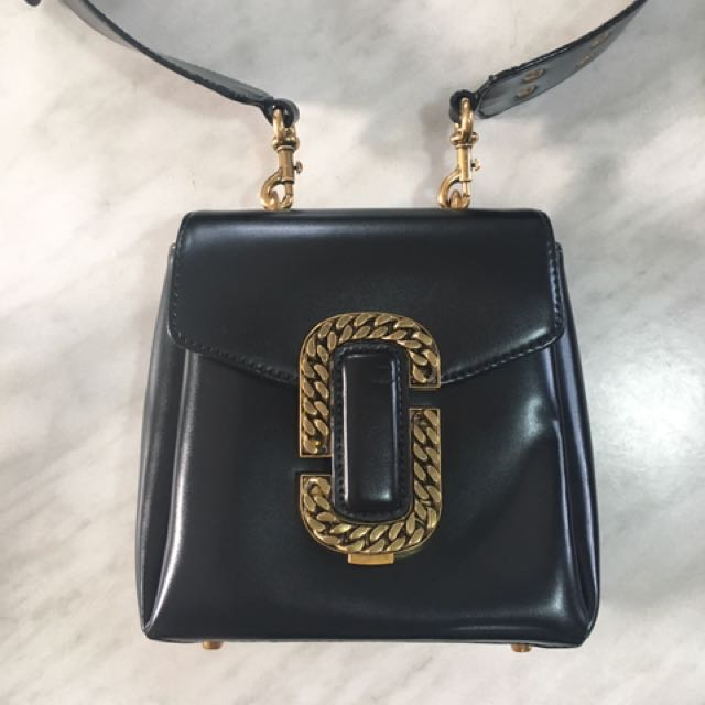 Authentic Marc Jacobs St. Marc Bag