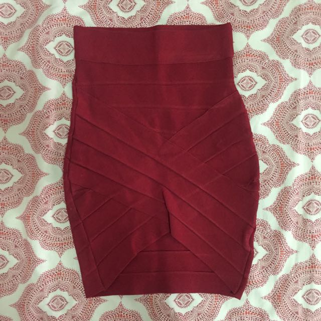 Bandage Asymmetrical Skirt