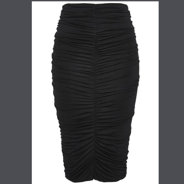 Bardot Black Fenix Skirt (SIZE 6)