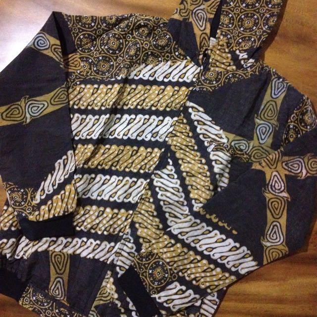 Batik Tulis Hoodie Zip