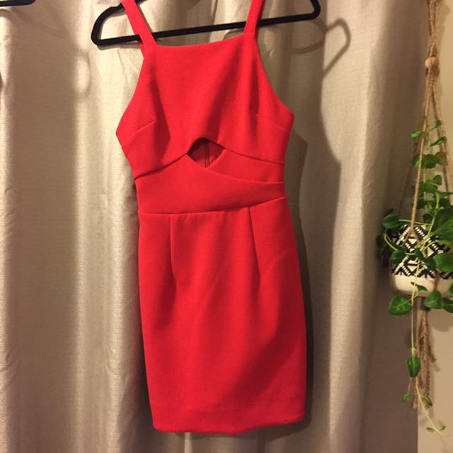 Bec And Bridge Red Dress 8