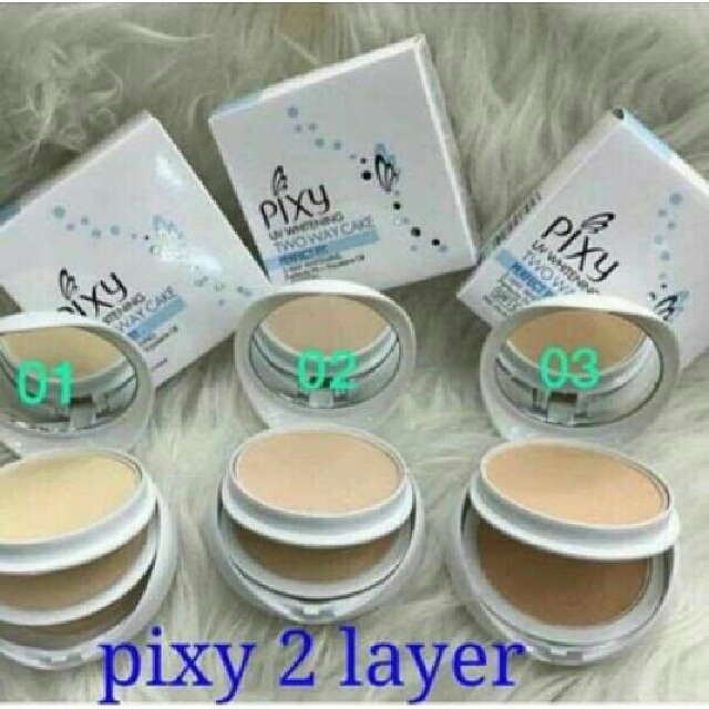 BEDAK PIXY 2 LAYER, Health & Beauty, Makeup on Carousell