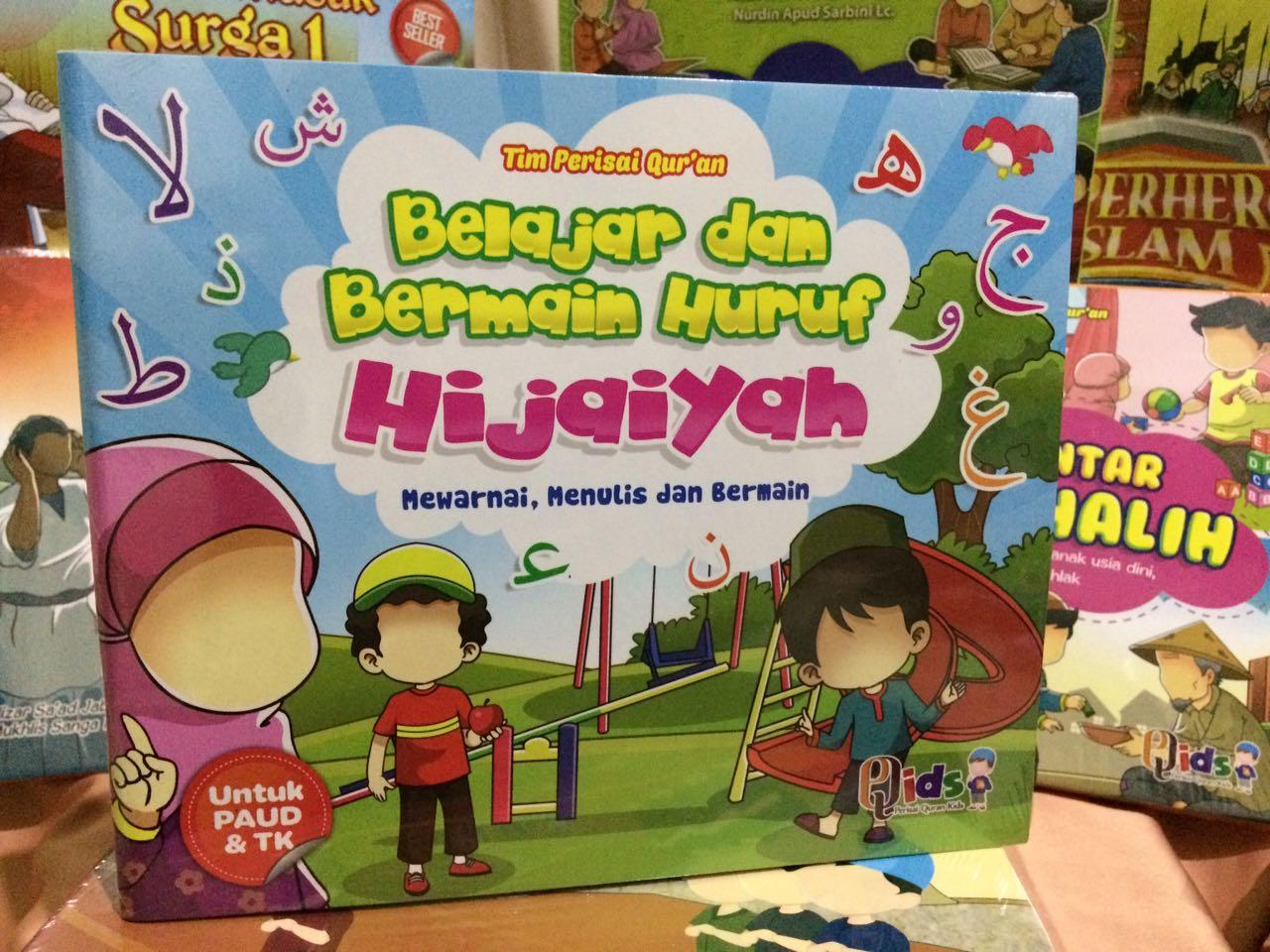 Belajar Dan Bermain Huruf Hijaiyah Books Stationery Childrens