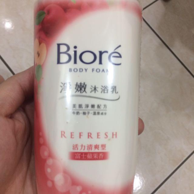 Biore沐浴乳🌸-富士蘋果香
