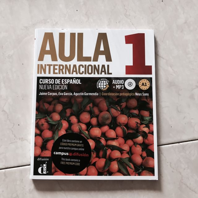 BN Aula Internacional 1 Spanish Textbook