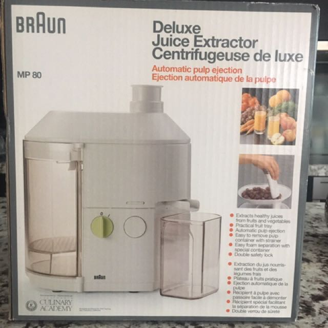 Braun Juice Extractor
