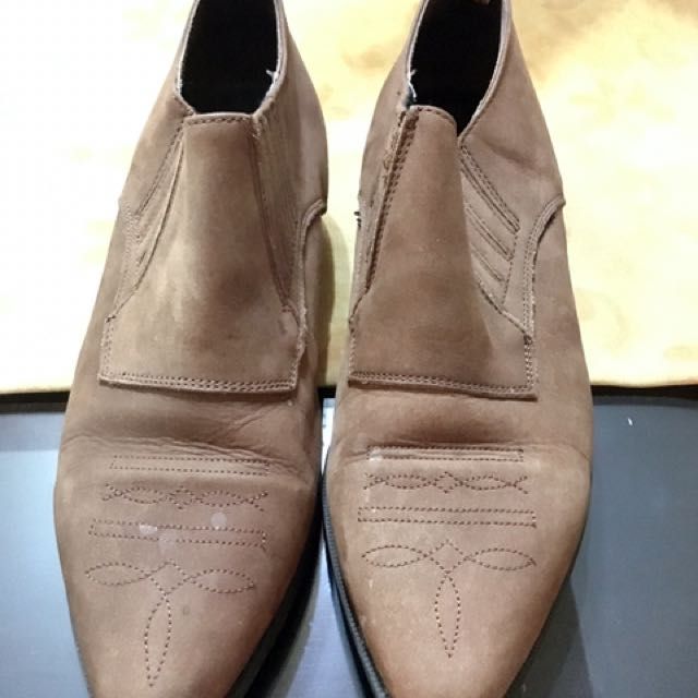 Brown Ankle Shoes