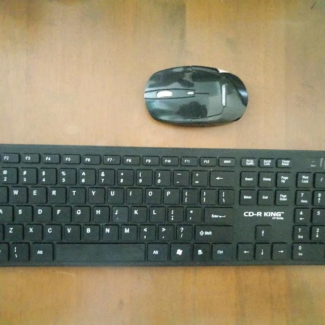 CD-R King Wireless Keyboard With Mouse