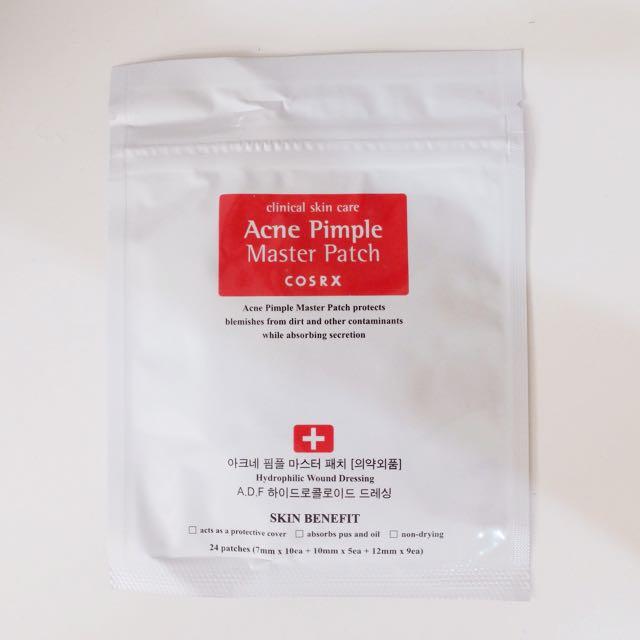 COSRX Acne Pimple Master Patch (sticker untuk jerawat)