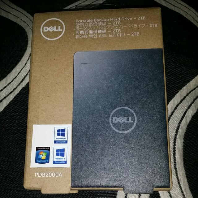 Dell 2tb Portable Hard Drive (sealed)