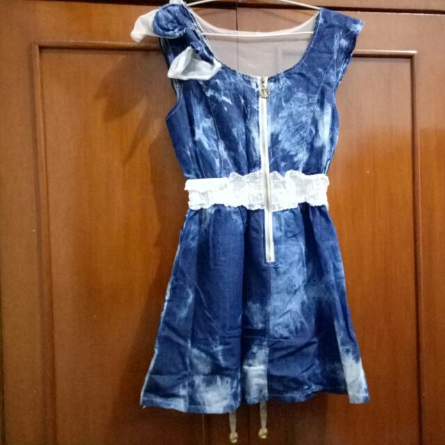 Denim Little Blue Dress