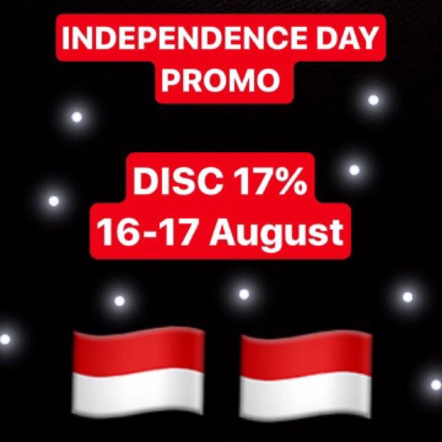 DISC 17% INDEPENDENCE DAY