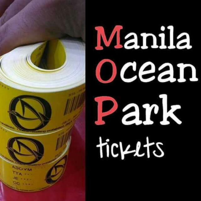 DISCOUNTED MANILA OCEAN PARK TICKETS